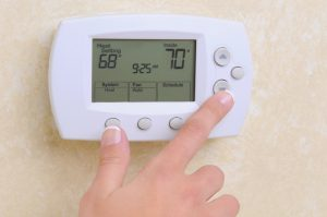 Thermostat setting