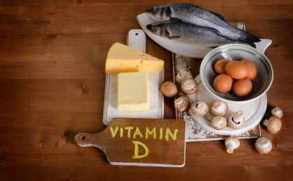 Goods containing vitamin d